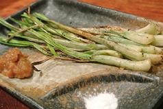 料理メニュー写真沖縄直送島らっきょう・淡路直送玉ねぎ