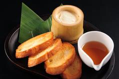 竹筒チーズ豆腐
