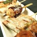料理メニュー写真おまかせ串コース(5本)