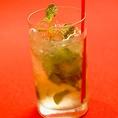 モヒート 750円 定番人気!メキシカンにはよく合う、さっぱりとした飲み口です。