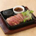 料理メニュー写真肉厚赤身肉の牛ステーキ~肉好きにはたまらない~