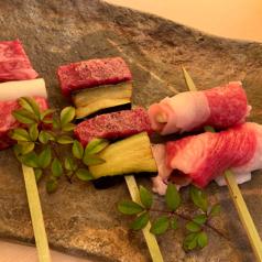 和牛串 炭火焼 あゆみ乃の写真