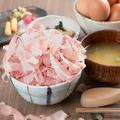 料理メニュー写真【朝定食】卵食べ放題の名物鰹節丼定食(朝6時から営業!!)