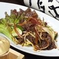 料理メニュー写真韓国風プルコギ