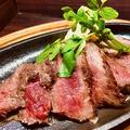 料理メニュー写真上州牛の赤身ステーキ