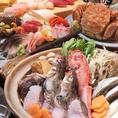 【旬の食材を使用したコースご用意!】お料理のみコース5000円(税抜)/6000円(税抜)コースをご用意しております。味だけでなくバランスも考えられた料理。他には無い圧倒的なクオリティでお客様の胃袋をつかみます。