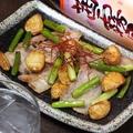 料理メニュー写真豚肉とニンニクのゴロゴロ鍋