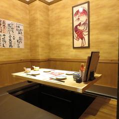 お客様だけの空間を楽しみたい方へ!完全個室です!