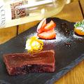料理メニュー写真CHOCOLATE TERRINE(チョコラテ・テリーヌ)