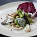 料理メニュー写真秋野菜の温製サラダ チーズソース