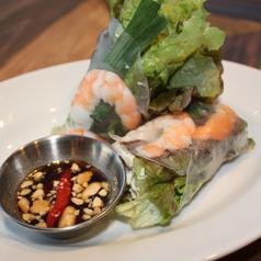 料理メニュー写真ベトナム風生春巻き