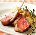 料理メニュー写真ニュージーランド産 仔羊背肉のインパデッラ