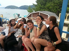avex beach paradaise FUKUOKA エイベックス ビーチパラダイス フクオカ 海の家の雰囲気1