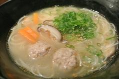 料理メニュー写真鶏にゅうめん・湯どうふ(鶏スープ味)