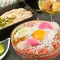 料理メニュー写真【蕎麦海鮮丼】