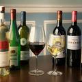 料理メニュー写真美味しい料理のお供に・・・各種ワイン