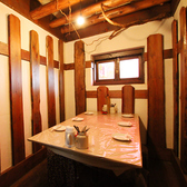【1F】6名様まで利用できる個室。この部屋は隠れ個室です。