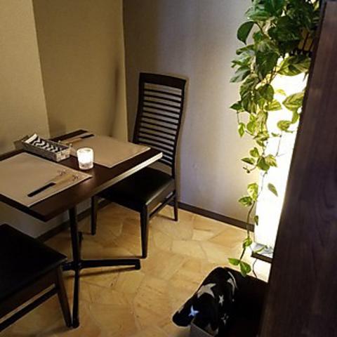 【半個室カップル席確約ディナープラン】デートや大切な記念日を贅沢に★お二人様で15000円税込