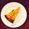 料理メニュー写真タルトノルマンディー(リンゴのタルト)