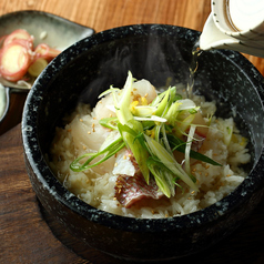 お茶漬け(鮭&いくら、梅)