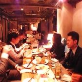カーテンで仕切ったソファ個室☆24名様で仕切ったお席で会社宴会!