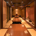 様々なシーンに対応可能な完全個室。