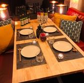 3階は全席4名のソファ個室。合コンにも最適♪最大35名様まで。会社宴会や新年会にも♪