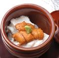料理メニュー写真自家製うにの壺蒸し豆腐(1壺~)