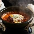 料理メニュー写真デミグラスハンバーグドリア