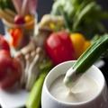 料理メニュー写真彩り野菜の自家製バーニャカウダー