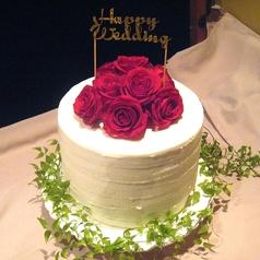 記念のケーキも承ります!!