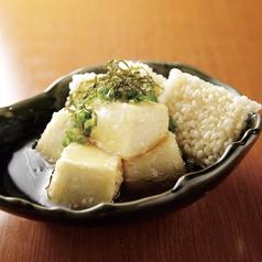 こだわり豆腐とおこげの揚げ出し