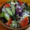料理メニュー写真花子サラダ