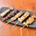料理メニュー写真おまかせ串焼き5本盛り合わせ