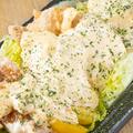 料理メニュー写真自家製タルタルのチキン南蛮