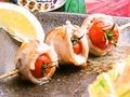 料理メニュー写真トマト肉巻串