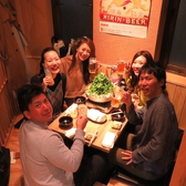 博多駅・キャナルシティからも徒歩5分圏内!仕事帰りにもピッタリな気軽に寄れるテーブル席♪もちろん宴会もOKです!