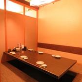 4~6名様用の掘り炬燵個室。