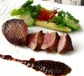 料理メニュー写真■神戸牛極上赤身ステーキ ━━磯上コースにて━━