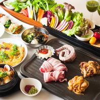 サムギョプサル・産直野菜食べ放題¥1980~★三宮焼肉