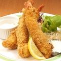 料理メニュー写真海老フライ定食