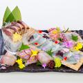 料理メニュー写真五島列島からお届け!鮮魚5種盛り合わせ