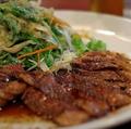 料理メニュー写真ガーリックステーキ(塩味またはしょうゆ味)