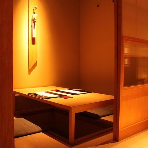 銀座の個室和空間で、老舗旅館さながらのおもてなしは接待や記念日に大好評!