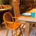 キッズサービスも充実!お子様用食器・椅子もご用意いたします。ベビーカーでも入店&ご利用も可能なのでママ会にも人気です!