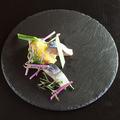 料理メニュー写真鯖とフィレンツェ白トリュフ塩のプレ