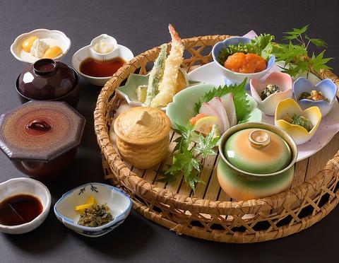 旬の食材を使用した懐石や御膳が人気です!宴会におすすめの飲み放題付きコースも◎
