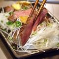料理メニュー写真牛タン厚切りステーキ 150g
