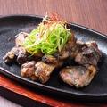 料理メニュー写真千葉県産 錦爽鶏の炭火焼き