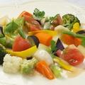 料理メニュー写真彩り野菜のメリメロサラダ